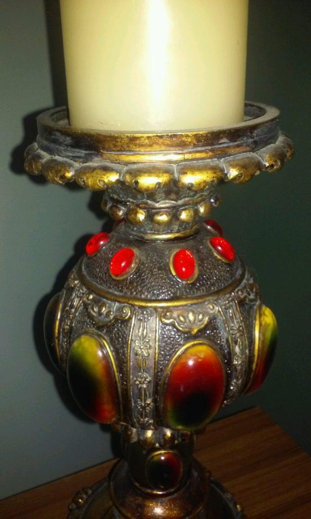 antique-candleholder