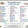 Benamino Gigli – Opera & song002