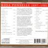 Rosa Ponselle – Prima Voce 1002