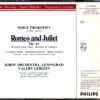 Romeo & Juliet – Prokofiev002