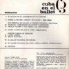 Cuba en el Ballet – Cuerpo de baile002