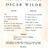 Oscar Wilde – Teatro002